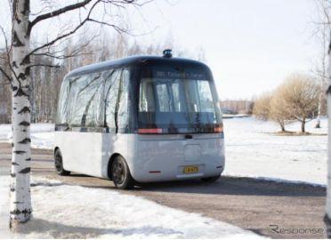 SBドライブ、フィンランドの全天候型自動運転バス開発メーカーと協業