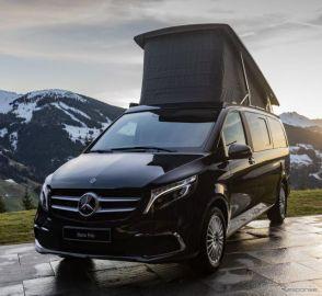 メルセデスベンツ Vクラス 改良新型、キャンピングカーに最新モデル…欧州発表