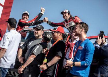 【ダカールラリー2020】初参戦で13位完走、F1王者アロンソが戦いを振り返る…「本当に楽しい2週間だった」