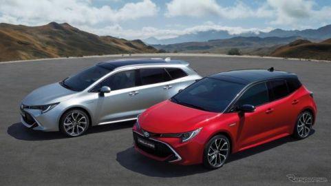 欧州新車販売、日本メーカーはトヨタ・マツダ・三菱が増加 2019年