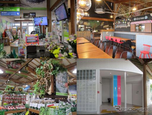 道の駅「木更津 うまくたの里」《画像:NEXCO東日本》