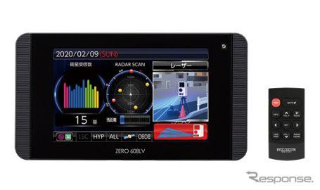 コムテック、GPSレーザー&レーダー探知機「ZERO 608LV」発売へ 最新レーザー式オービスに対応