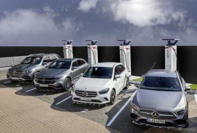 メルセデスベンツ「EQ」、電動車向けサービスを欧州で開始…メルセデス・ミーを利用