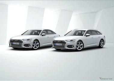 アウディ A6/A7スポーツバック、2リットルモデルを追加 マイルドHV搭載で燃費向上