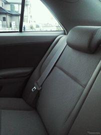 後席シートベルト着用率39.2%、依然として低い JAFと警察庁合同調査