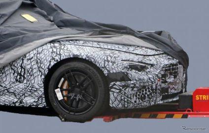 メルセデスベンツ『SL』にファブリックルーフ復活へ…AMGが開発、2+2シーター化も