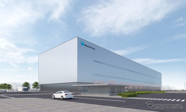 新工場の外観(イメージ)《画像:GSユアサ》