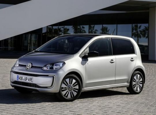 VW up!のEV『e-up!』に改良新型、航続2倍に…欧州発売