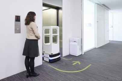 パーソナルモビリティが自らエレベーターを利用 三菱電機が技術を開発