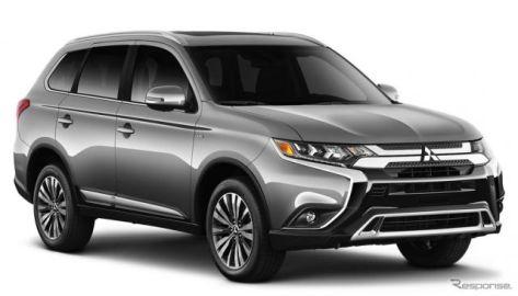 三菱 アウトランダー、5年間の所有コストが最も低い3列中型SUVに認定…米『ケリー・ブルー・ブック』