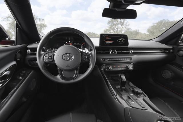 トヨタ・スープラ 新型の米国仕様(参考画像)《photo by Toyota》