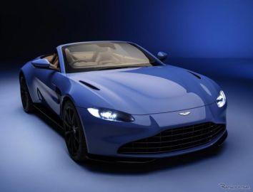 アストンマーティン ヴァンテージ 新型にオープン、ロードスター…欧州発表