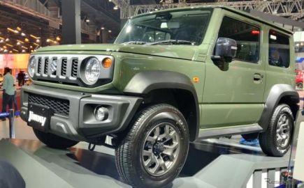 スズキ ジムニー 新型を初出展、インドの顧客の反応を探る…デリーモーターショー2020