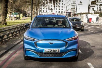 フォード マスタング のEV「マッハE」、欧州仕様車は航続600kmが目標