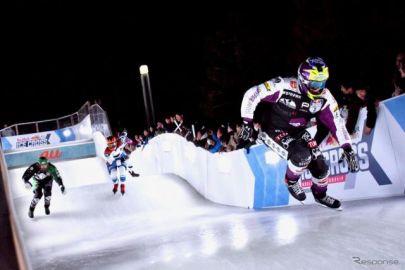 氷上のクロストレイル競技、レッドブル・アイスクロス横浜2020開催