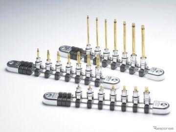 KTC、ネプロス6.3sq.シリーズのラインアップ強化 T型トルクスビットソケットなど発売