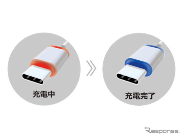 AQ.Type-Cリール式充電器《画像:オートバックスセブン》