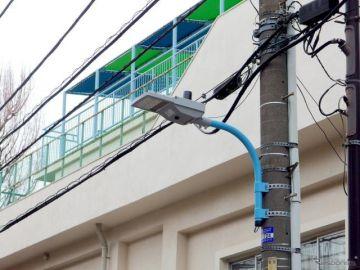 ミネベアミツミと岩崎電気が開発した「IoT街路灯」の実証実験を杉並区で実施
