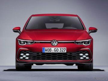VW ゴルフ GTI 新型、245馬力ターボ搭載…ジュネーブモーターショー2020で発表へ