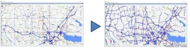 パイオニア、道路交通情報サービスの実証実験にプローブ情報を提供