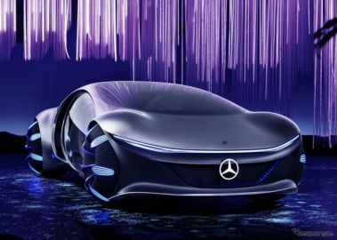 メルセデスベンツ、横移動が可能な未来の自動運転EV提案…ジュネーブモーターショー2020[中止]