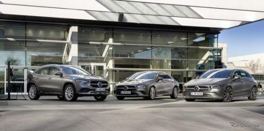 メルセデスベンツ、GLA 新型と CLA 新型にPHV設定…燃費は71.4km/リットル