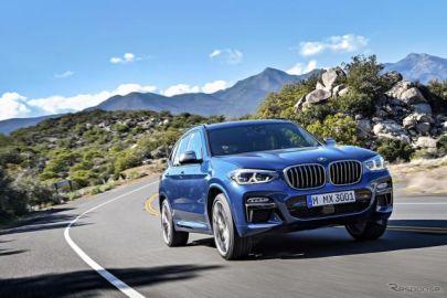 BMW X3、直6ガソリンエンジン搭載のMパフォーマンスモデル追加 価格は889万円