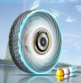 グッドイヤー、未来のタイヤは自己再生が可能…ドライバーの運転スタイルにも適合