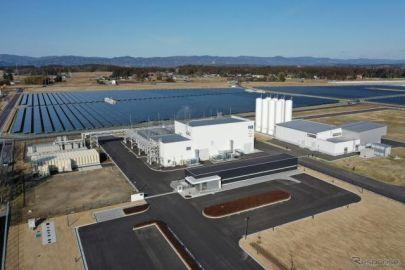 再エネを利用した世界最大級の水素製造施設、実証運用を開始…福島県浪江町