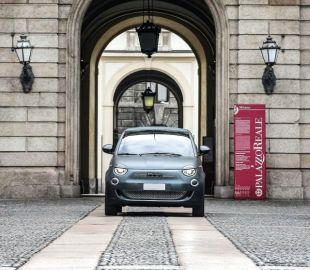 フィアット 500 新型、ワンオフ「アルマーニ」をオークションに…ディカプリオの環境保全活動に寄付