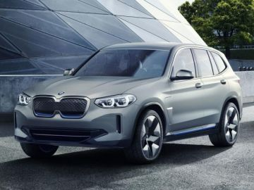 BMWの新型EV、『iX3』の市販モデルの画像 2020年内に公式発表予定