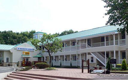 東北道 長者原SAに宿泊施設オープン、4名利用で1室1万円より 4月24日