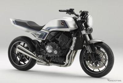 ホンダ『CB-Fコンセプト』、バーチャルモーターサイクルショーで世界初公開