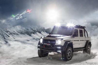 ブラバス、メルセデスベンツ Gクラス 新型のAMGをカスタム…800馬力のピックアップトラックに