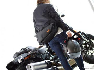 バイクから降りても持ち歩きたい、防水メッセンジャー型サイドバッグ発売 ドッペルギャンガー