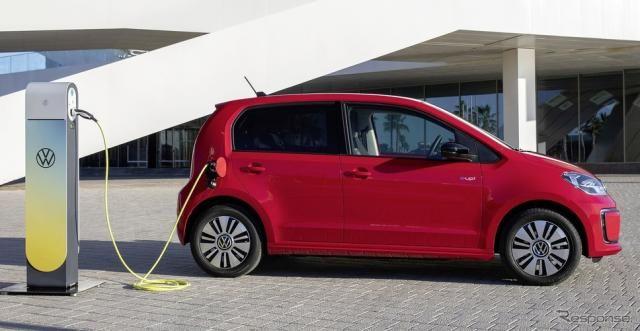 VW up!改良新型、2台に1台がEVに…需要がドイツで急増