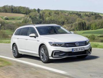 VW パサート PHV 改良新型、受注が従来型の5倍増に…ドイツ