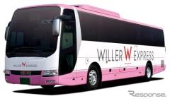 ウィラーエクスプレス、高速バス全便運休 4月4日から30日まで