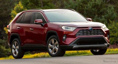 トヨタ米国販売、RAV4 が16.5%増と回復 2020年第1四半期