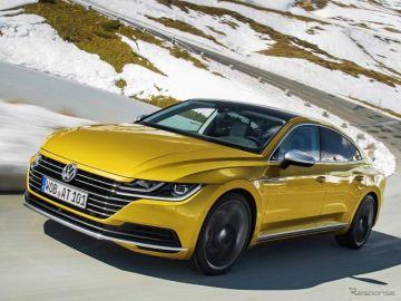 VW アルテオン と ティグアン に初のPHV、2020年内に設定へ