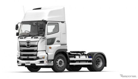 日野プロフィア・トラクターシリーズを一部改良 安全装備を充実
