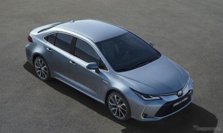 トヨタ欧州販売、カローラセダン 新型が6割増 2020年第1四半期