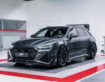 アウディ RS6アバント 新型を740馬力にチューン…独アプトが125台を限定販売へ