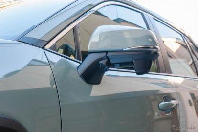 RAV4 新型用サイドカメラキット発売、左折や縦列駐車で威力を発揮 データシステム