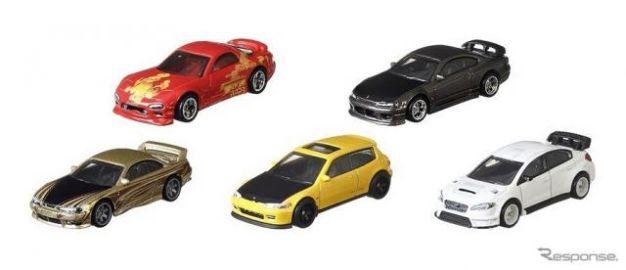 ホットウィール、「ワイルド・スピード」登場の日本車のみを集めた新シリーズ発売へ