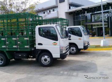 三菱ふそう、キューバで過去最大となるトラック96台を受注