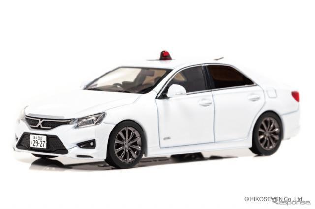 トヨタ マーク X 350S +Mスーパーチャージャー(GRX133)2016 警視庁高速道路交通警察隊車両《画像:ヒコセブン》