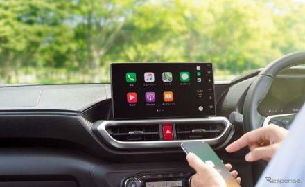 【トヨタ ハリアー 新型】「Apple CarPlay」「Android Auto」に無料対応