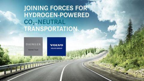 ダイムラーとボルボ、燃料電池量産に向けて合弁設立…2020年代後半に実用化へ