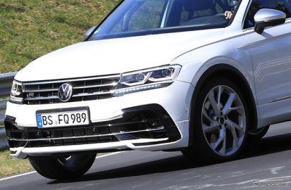 VW車ナンバー1の『ティグアン』、改良モデルに待望の「R」…2020年後半デビューか
